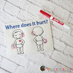 ITH - Where Does it Hurt Chart