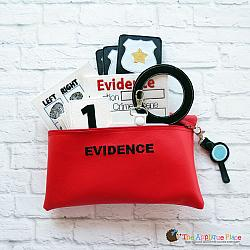 ITH - Evidence Bag and Magnifying Glass Bag Tag