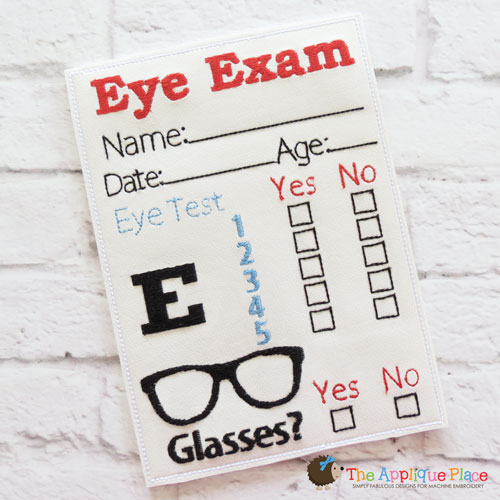 ITH - Eye Exam Chart