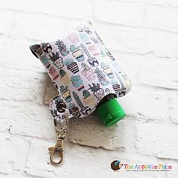 Key Fob - 3 Oz Hand Sanitizer Case (Eyelet)