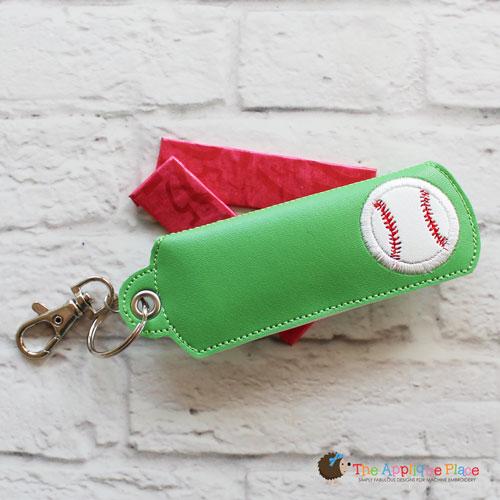 Key Fob - Gum Case - Version 1 - Baseball (Eyelet)