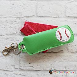 Key Fob - Gum Case - Version 1 - Baseball (Eyelet)