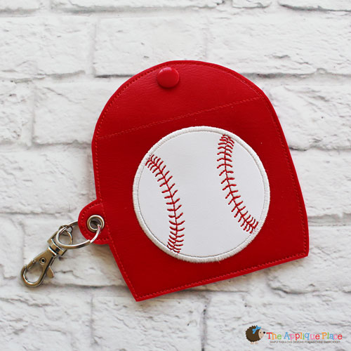 Key Fob - Gum Case - Version 2 - Baseball (Eyelet)