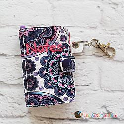 Key Fob - Notebook Case (5x7) (Eyelet)