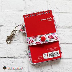 Key Fob - Snap Strap Notebook Case (Eyelet)