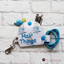 Key Fob - Hair Things Case (Eyelet)