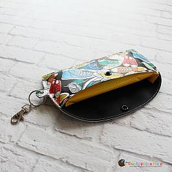 Key Fob - Hand Wipes Case (Eyelet)