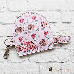 Key Fob - Hair Things Case -Large (Eyelet)