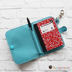 Key Fob - Notebook Case - Mini Composition (Eyelet)