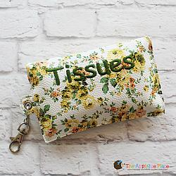 Key Fob - Tissue Case (Eyelet)