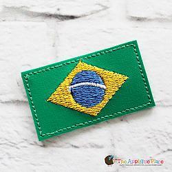Feltie - Brazil Flag