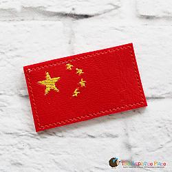 Feltie - China Flag