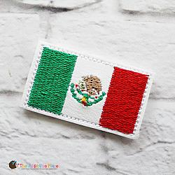 Feltie - Mexico Flag