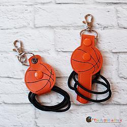 Key Fob - Hair Thing Holder - Basketball