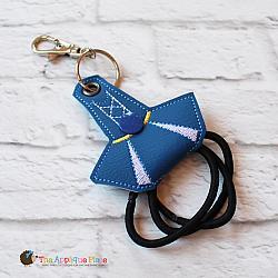 Key Fob - Hair Thing Holder - Cheer Dress