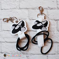 Key Fob - Hair Thing Holder - Tap Shoes