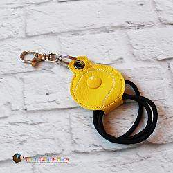 Key Fob - Hair Thing Holder - Tennis Ball