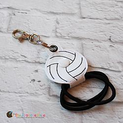 Key Fob - Hair Thing Holder - Volleyball