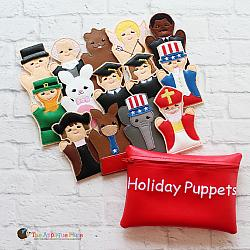 Puppet Set - Holiday (FINGER Puppets ONLY)