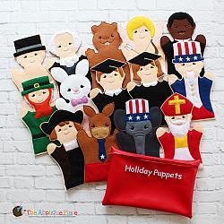 Puppet Set - Hoildays