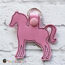 Key Fob - Horse Silhouette