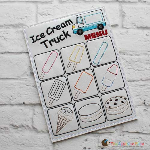 ITH - Ice Cream Truck Menu
