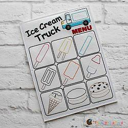 ITH - Ice Cream Truck Menu