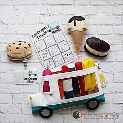 ITH - Ice Cream Truck Bag and Tag