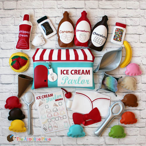 ITH - Ice Cream Parlor Set