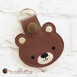 Key Fob - Bear Head