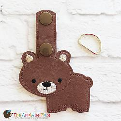 Key Fob - Brown Bear
