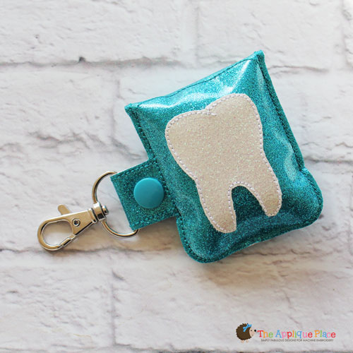 Key Fob - Floss Case (Snap Tab)