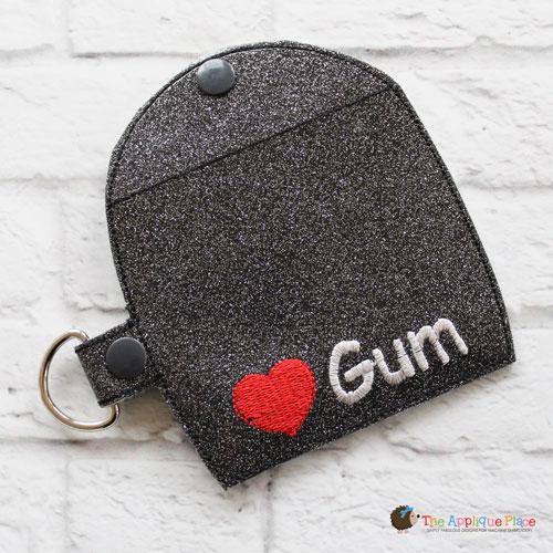 Key Fob - Gum Case - Version 2 (Snap Tab)