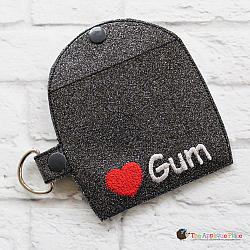 Key Fob - Gum Case - Version 2 (Snap Tab)