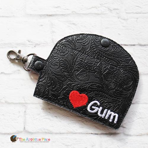 Key Fob - Gum Case - Version 3 (Snap Tab)