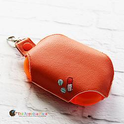 Key Fob - Pill Case - Large (Snap Tab)