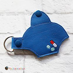 Key Fob - Pill Case - Small (Snap Tab)