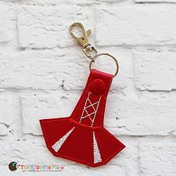Key Fob - Cheer Dress