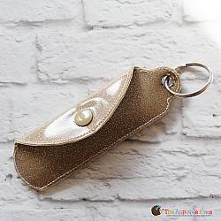 Key Fob - Bandage Case - Heart (Eyelet)
