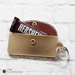 Key Fob - Emergency Chocolate Case - Rectangle (Eyelet)
