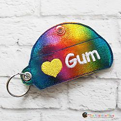 Key Fob - Gum Case - Version 1 (Eyelet)