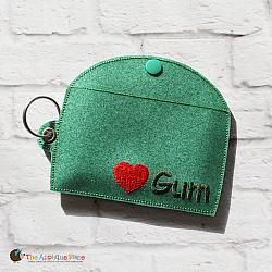 Key Fob - Gum Case - Version 3 (Eyelet)