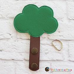 Key Fob - Forest Tree
