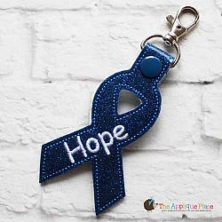 Key Fob - Hope Ribbon