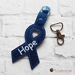 Key Fob - Hope Ribbon