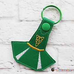 Key Fob - Irish Dance Dress