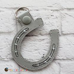 Key Fob - Lucky Horseshoe