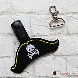 Key Fob - Pirate Hat