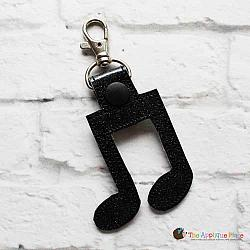 Key Fob - Quarter Note