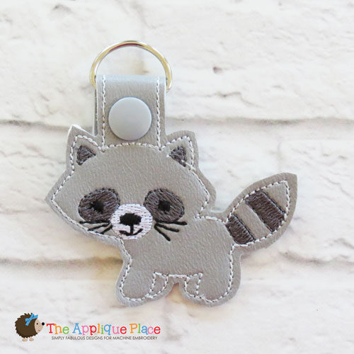 Key Fob - Raccoon